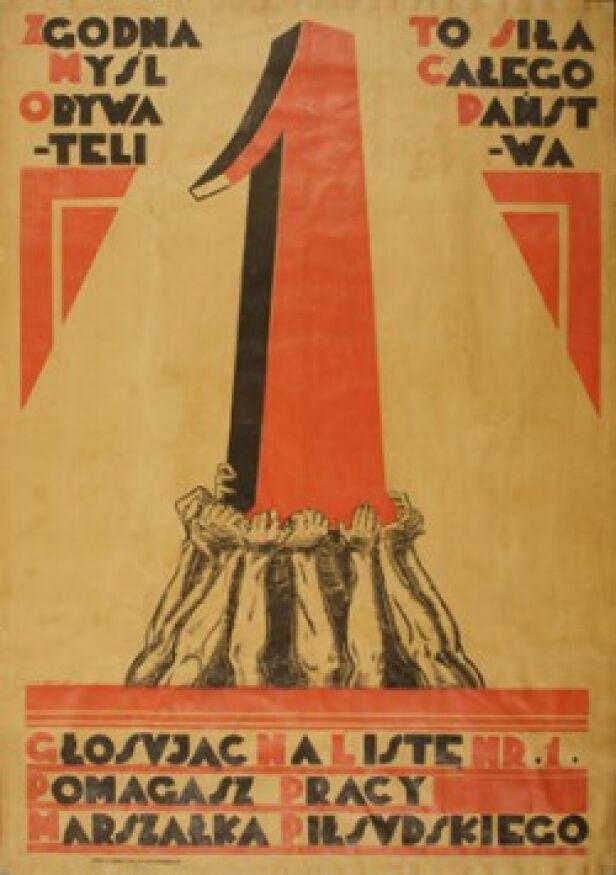 plakat wyborczy, fot. MHP