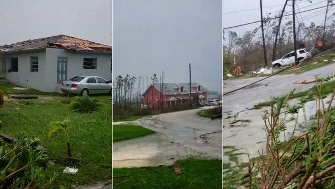 """""""Wszystko dookoła zostało zniszczone"""". <br />Bahamy po uderzeniu huraganu Dorian"""