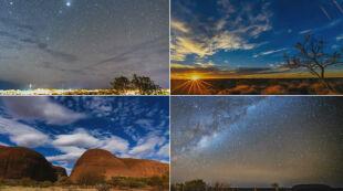 Droga mleczna, skały i niesamowite przestrzenie. To krajobraz Australii