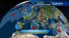Do Polski zbliża się front atmosferyczny