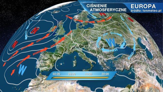 Wyż Oldenburgia rządzi pogodą w Polsce