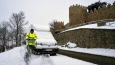 Sztorm Gloria w Hiszpanii (RAUL SANCHIDRIAN/PAP/EPA)