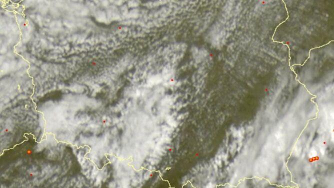 Gdzie jest burza. Grzmi na południu Polski
