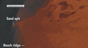 NASA przeanalizowała zdjęcia jeziora Czad
